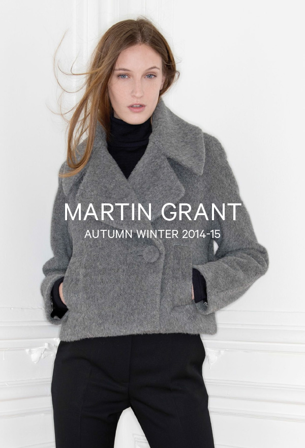 Martin Grant-Autumn Winter 2014-15