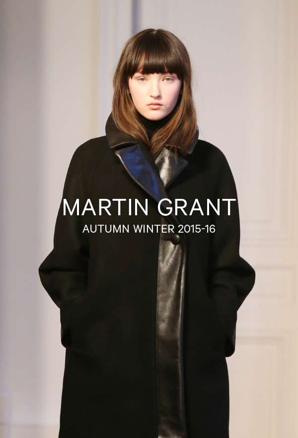 Martin Grant-Autumn Winter 2015-16