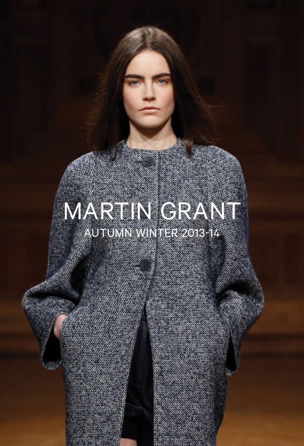 Martin Grant-Autumn Winter 2013-14