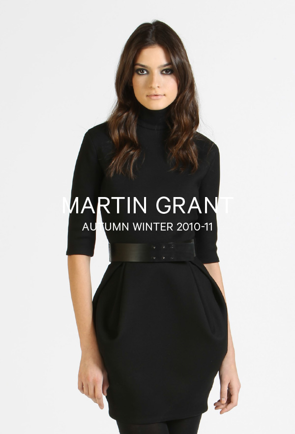 Martin Grant-Autumn Winter 2010-11