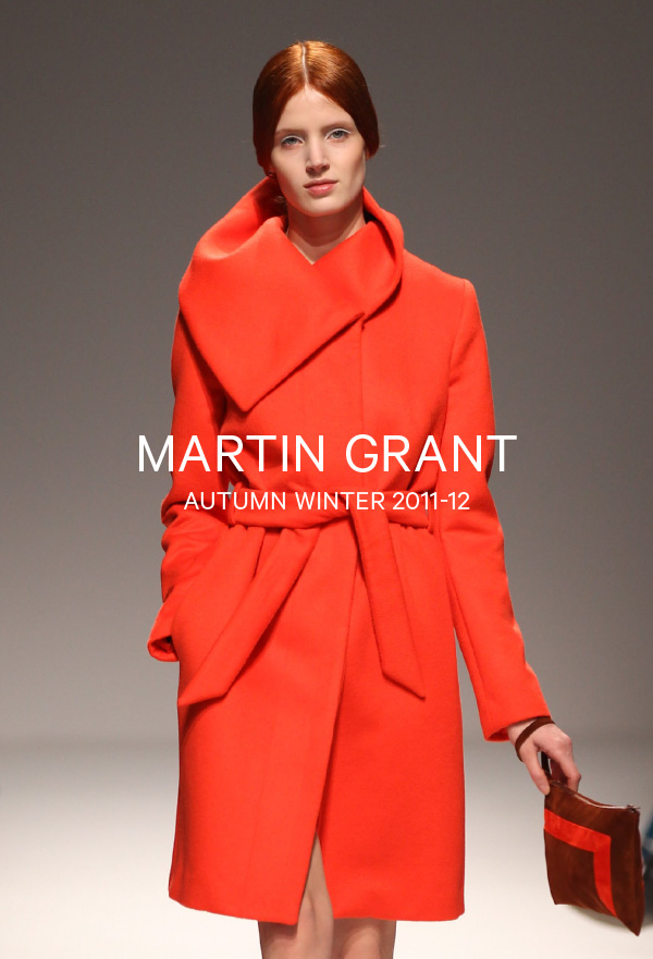 Martin Grant-Autumn Winter 2011-12