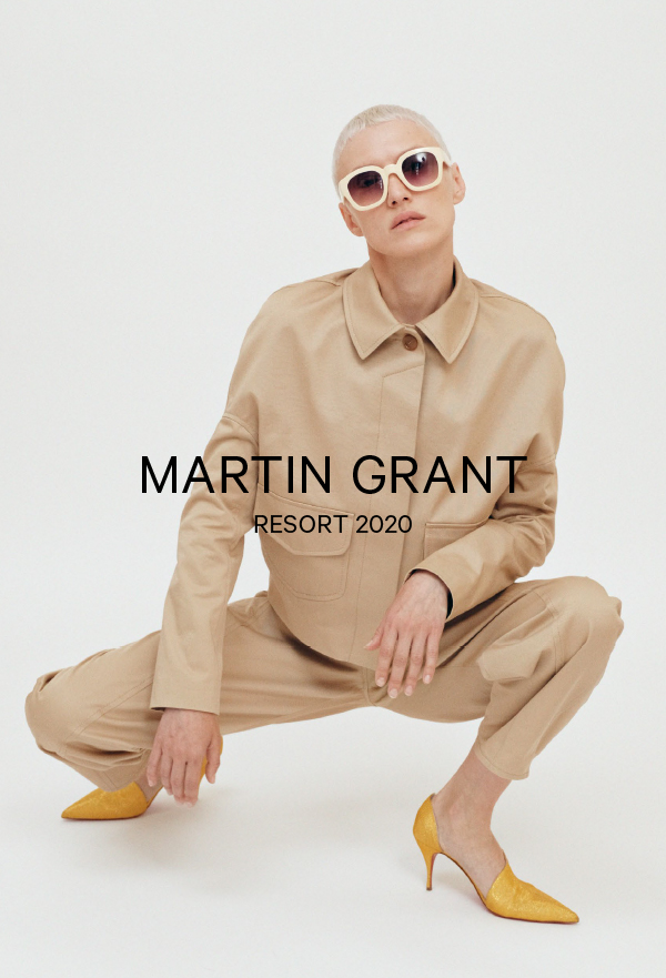Martin Grant-RESORT WOMEN 2020