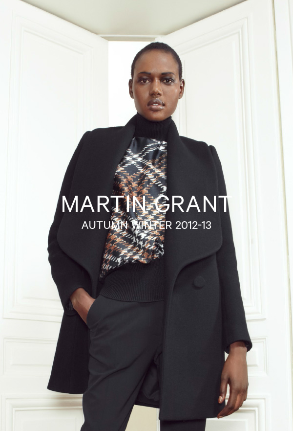 Martin Grant-Autumn Winter 2012-13