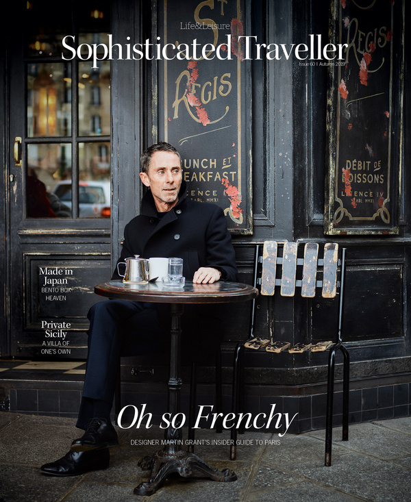 Martin Grant - SOPHISTICATED TRAVELLER
