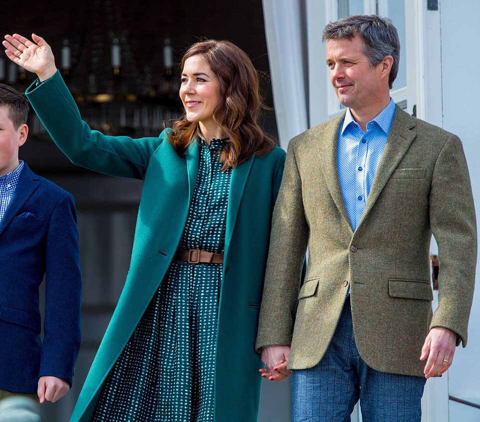 Martin Grant - Mary, Crown Princess of Denmark and Frederik, Crown Prince of Denmark