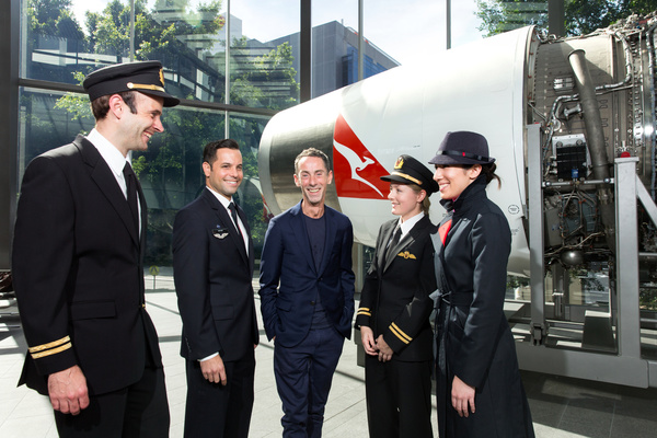 Martin Grant - MARTIN GRANT TO DESIGN NEW QANTAS PILOT UNIFORM
