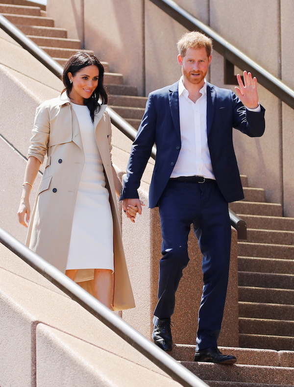 Martin Grant - PRINCE HARRY AND MEGHAN, THE DUCHESS OF SUSSEX AT THE SYDNEY OPERA HOUSE