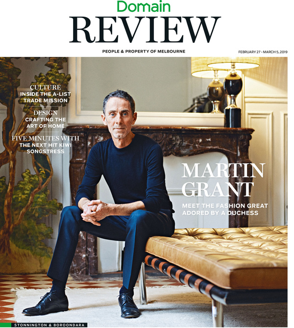 Martin Grant - DOMAIN REVIEW COVER STORY, AUSTRALIA